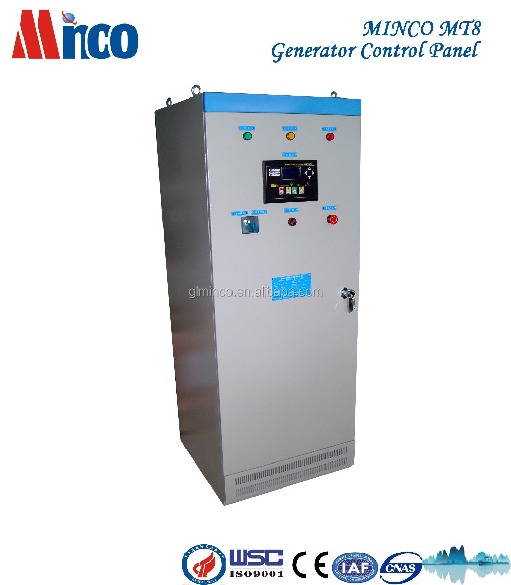 MT8 ATS Auto Transfer Control Panel