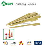 2016 disposable bamboo fruit pick skewer stick