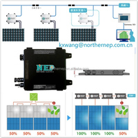 Rooftop solar power inverter/microinverters 300w