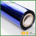 Blue Hot Stamping Foil Roll for Paper/Paper Bag/Carton/Wallpaper/Business Card/Book/Picture Album/Sticker Factory Price