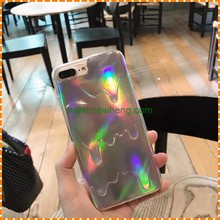 New products Melting Ice Cream laser Style soft tpu phone cover case for iphone 7 plus