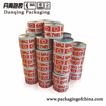 DQ PACK High Quality flexible stock plastic film roll for food packaging