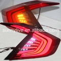 For HONDA Civic LED Tail Light 2016 Year Red Black Color YZ