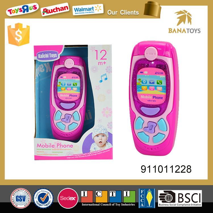 Musical baby toy smart phone