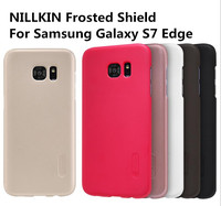 Original Nillkin Super Frosted Shield Hard Back Cover Case For Samsung Galaxy S7 edge Mobile Phone Shell
