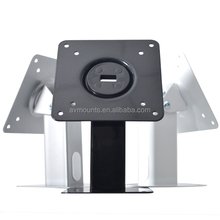 Hot Selling Free Stand SPCC Metal Anti Theft Rotating 360 Degrees Table Android Tablet Display Stand For 7-14 Inch PC