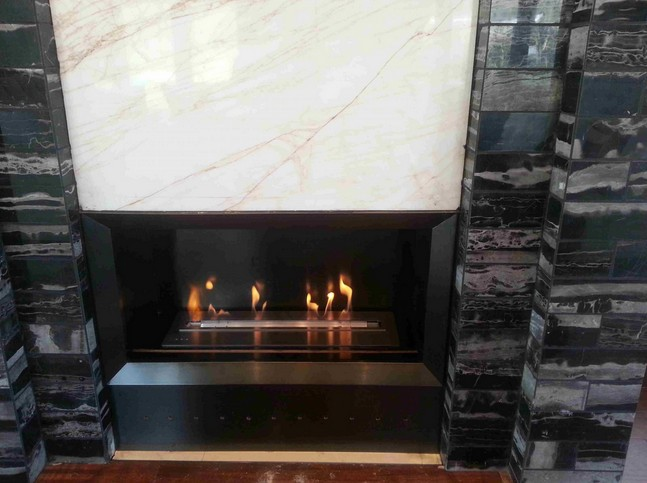 intelligent ethanol fireplace insert burners with many