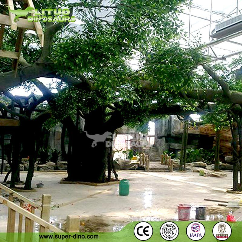 Indoor High Quality Decorative Artificial Tree of Banyan Tree