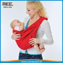 Cotton / spandex Baby ring sling 2017 Ergonomic Baby carrier sling