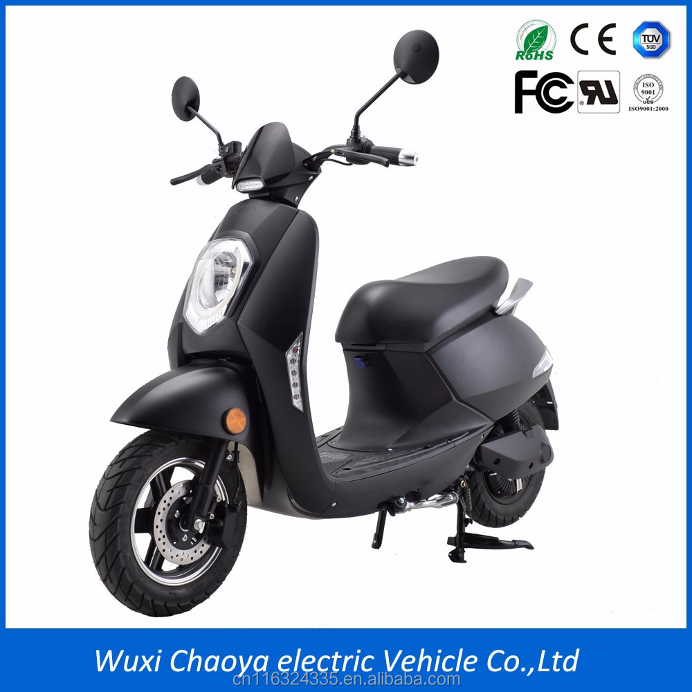 2018 New EEC Certificated 2 wheel electric scooter with Removable Lithium battery