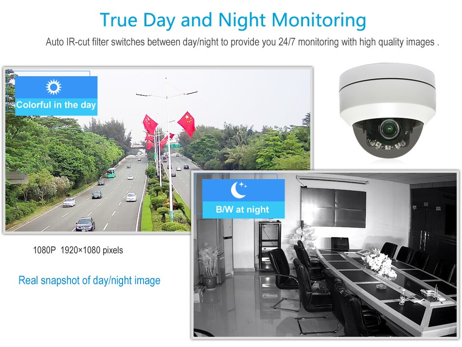 Smallest PTZ CCTV Camera Supportbuilt- in POE Waterproof Pan and Tilt Outdoor Mini POE IP PTZ Camera