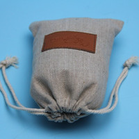 Nature Jute Burlap Drawstring Small Hessian Gift Bags Drawstring Pouches Wholesale