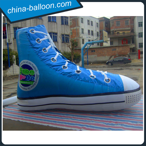 Huge inflatable shoes replica/ inflatable sneaker/ inflatable gym shoes model
