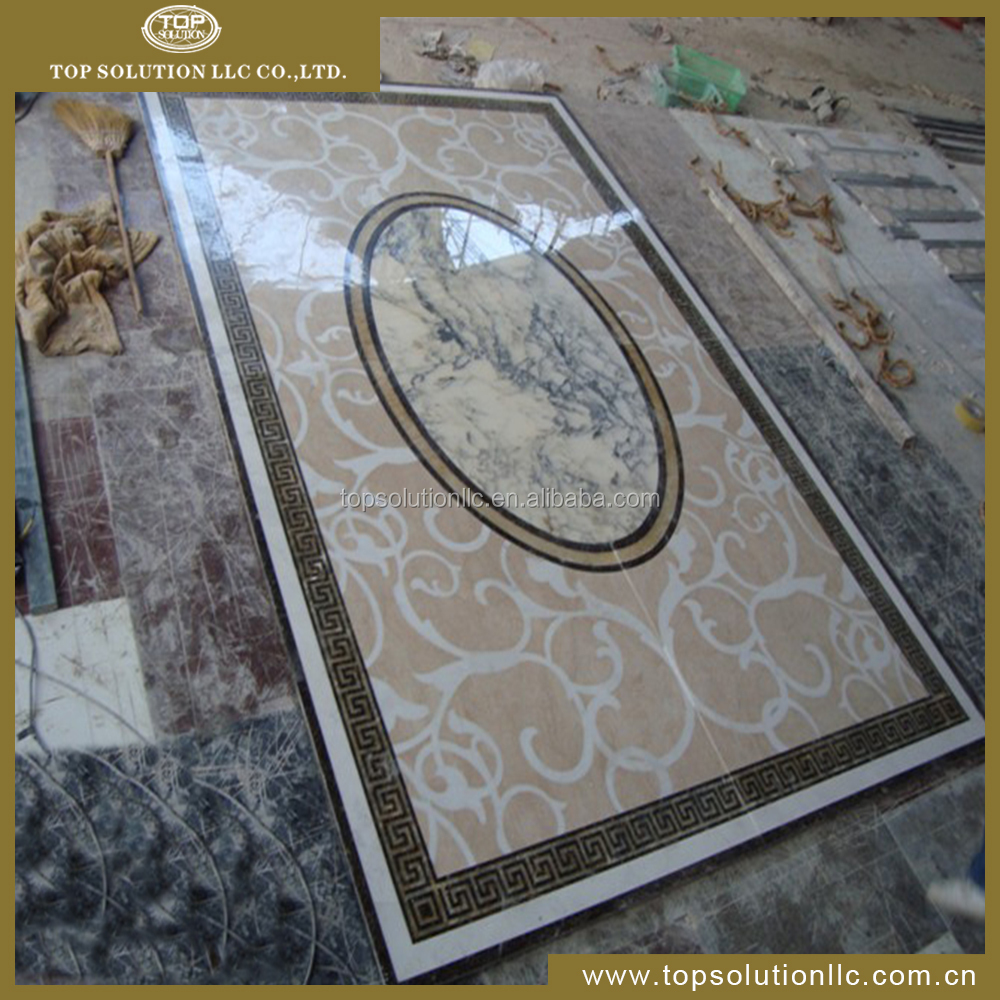 Factory Luxury Water Jet Marble Mosaic Tile Floor and Wall Tile