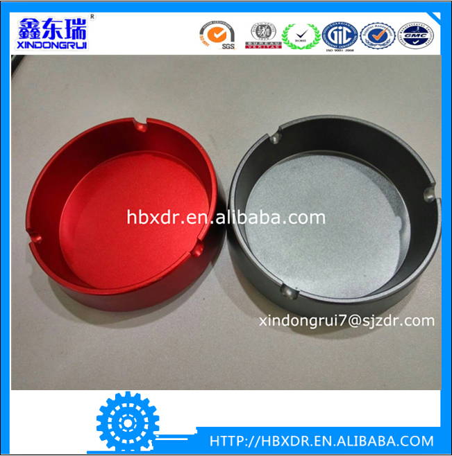 Smoking round aluminum alloy ashtrays