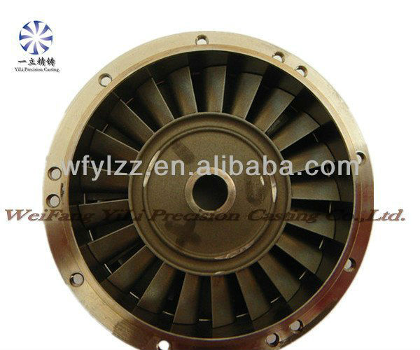 Turbine wheel and nozzle guide vanes used for boeing aircraft parts gas turbine