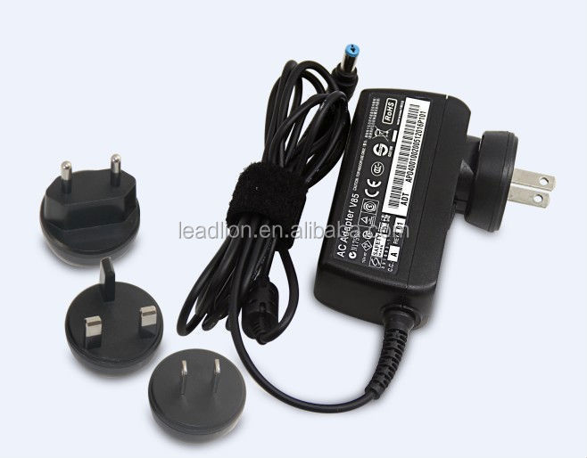 19V 2.15A Wall style tablet PC charger for Acer V5 series