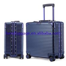 2017 latest fashion top design 17 inches laptop luggage with different colours