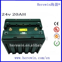 China factory shop online LiFePO4 bms 24V 20Ah lithium battery for electric scooter ,motorcycle