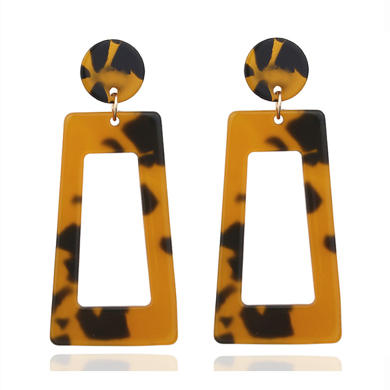 Statement Valentine's Day Gift Big Acrylic <strong>Earrings</strong> Wholesale Cellulose Acetate Stud <strong>Earring</strong> for women