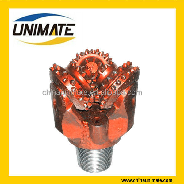 Tungsten Carbide Tricone Drill Bits/Rock Rotary Drill Head For Oil Well Drilling