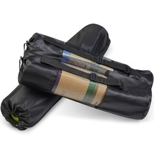 recycled personalised sports polyester yoga mat bag