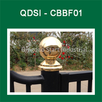 large brass ball /copper ball for horse stable