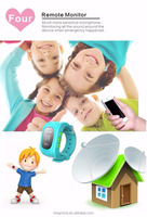 Child Personal Security wrist watch small gps tracking device NT18 for kids from shenzhen ningmore company