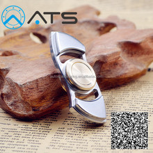 Brass/stainless steel Relieves Stress ceramic bearing Spinner Fidget Toys