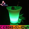 Remote control color changing rotomolded coolers led modern clear ice bucket