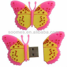 New arrival! Butterfly USB flash Drive for premium gift 1GB-64GB
