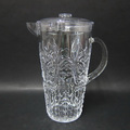 Unbreakable Embossed Plastic Pitcher