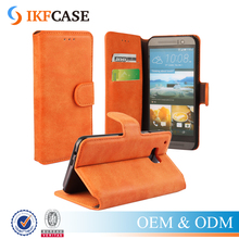 Luxury Wallet PU Leather Case For HTC One M9 Retro Flip with Stand Design Card Slot Hot Sale Phone Back Cover