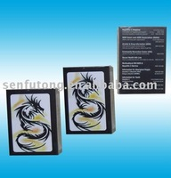 Customized poker card with Dragon design