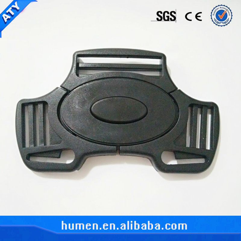 Plastic 3-way quick release buckle for baby stroller buckle