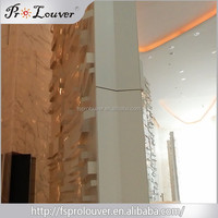 Wholesale low price high quality aluminum laser cut perforated carved decorative panel