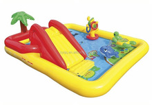 Inflatable Water Slide Play Center Includes Blower