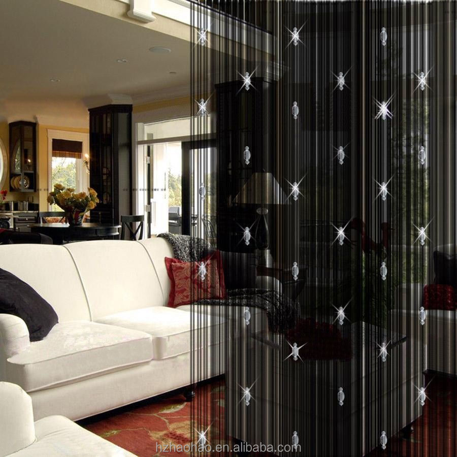 Youpin Beaded String Curtain With 3 Bead Window Door Beauty Decorative Panel