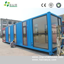 sound insulated kiosk container home kits prefabricated container hotel