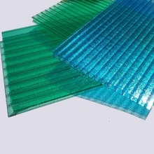 Popular house roof cover materials / crystal polycarbonate roofing sheet