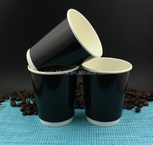 various material double wall hot coffee paper glass cups with FDA certificate