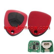 High quality For Ferrari style 3 button remote key for KD300 and KD900 and URG200 to produce any model remote . No blade hole