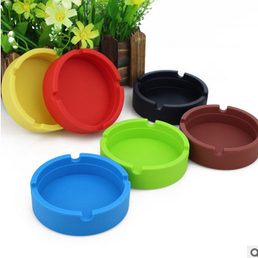 Anti-broken Portable Silicone Ashtray