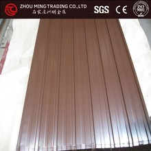 galvanized corrugated steel floor decking sheet