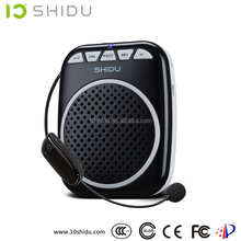 SHIDU SD-S711 UHF Wireless mini voice amplifier home audio with karaoke system