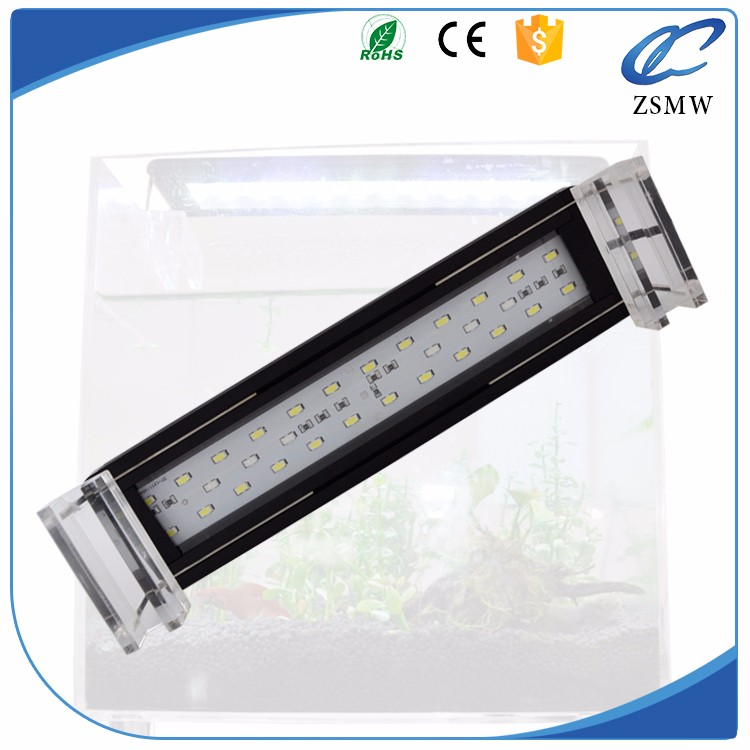 Aqua beauty led marine reef lighting remote control intelligent full spectrum led aquarium light for coral