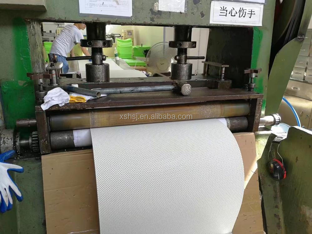 polycaprolactone Sheet extrusion machinery for othopedics bandages medical industrial