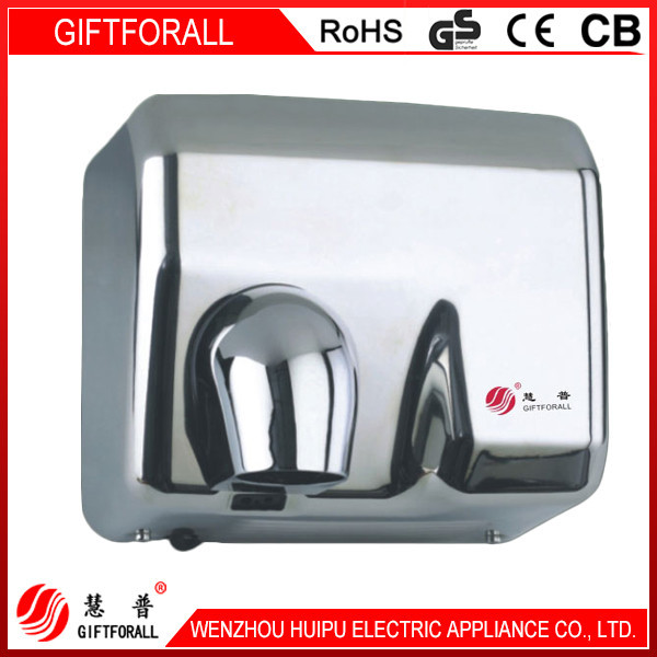 Stainless Steel 2300W Ptc Corrugated Heater For Hand Drier