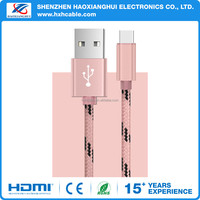 OEM Factory Price China Supplier for Nylon Covered USB Charging Cable