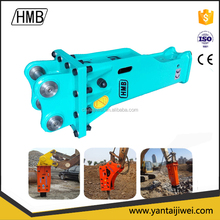 Hydraulic Rock Hammer Breaker with Chisel Dia of 68mm